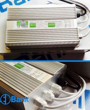 منبع تغذیه 12 ولت 20 آمپر 250 وات ضد آب IP67