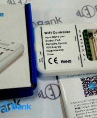 کنترلر وای فای ال ای دی RGB/WW/CW اپلیکیشن اندروید و IOS