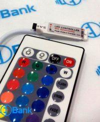کنترل ال ای دی RGB هفت رنگ 6 آمپر با ریموت مادون قرمز