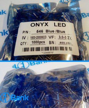 ال ای دی اوال آبی برند اونیکس مخصوص تابلو ال ای دی ثابت