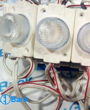 ال ای دی بلوکی تک چیپ لنز دار مشجر پر نور، ورودی 12 ولت