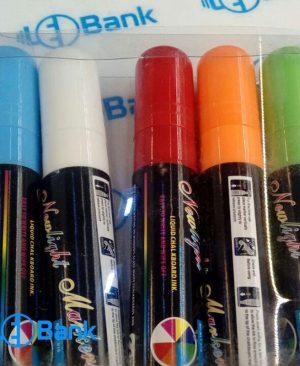 ماژیک بلک لایت قلم درشت پک 8 و 80 عددی حساس به نور UV