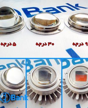 هیت سینک ال ای دی آلومینیومی خورشیدی به همراه لنز و رفلکتور