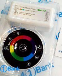کنترلر تاچ ال ای دی RGB رادیویی RF جریان 18 آمپر