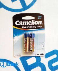 باتری نیم قلمی معمولی 1.5 ولت 2 عددی