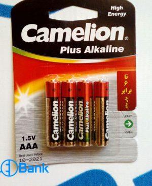 باتری نیم قلمی الکالاین 4 عددی 1.5 ولت