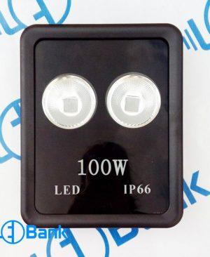 قاب پروژکتور ال ای دی رفلکتور دار مناسب SMD / COB توان 100 وات تا 400 وات