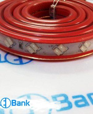 ال ای دی نواری دو لاین قرمز 220 ولت ضد آب چیپ 5730