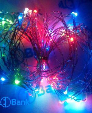 ریسه ال ای دی RGB سوزنی قابل انعطاف تزئینی