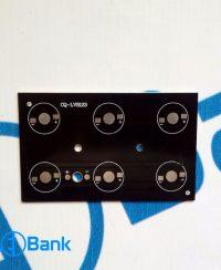 پی سی بی پاور ال ای دی چهار گوش 6 وات 104×64 کد CQ-LV8123