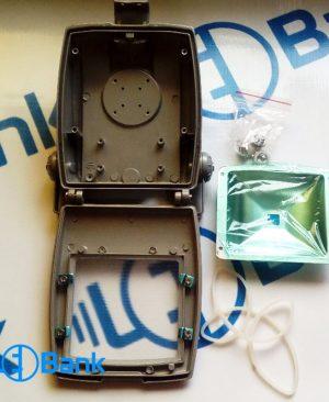 قاب پروژکتور 10 وات شیشه ضد حرارت آنتی باکتریال و بست قفل دار