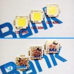 ال ای دی smd ولتاژ 13-12 ولت 20، 30 و 40 وات چیپ EpiStar مناسب برق ماشین