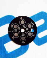 پی سی بی پاور ال ای دی 6 وات RGB کد CQ-LV9183 قطر 49 میلیمتر