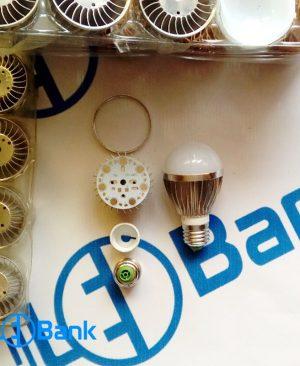فریم آلومینیومی لامپ ال ای دی حبابی 5 وات