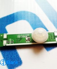 سنسور حرکتی pir محدوده 2 متر ورودی 12 ولت کنترل انواع ال ای دی