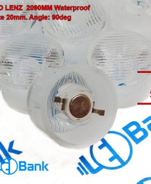 لنز 90 درجه پاور ال ای دی مشجر مناسب وال واشر نور پردازی نمای ساختمان