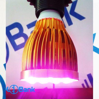 لامپ ال ای دی رشد گیاه 12 وات فول اسپکتروم خانگی