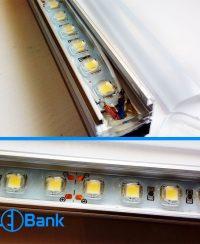 چراغ ال ای دی ضد آب ورودی 24 ولت طول 100 و 50 سانتیمتر مناسب اتوبوس