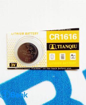 باتری سکه ای 3 ولت CR1616 لیتیومی Tianqiu