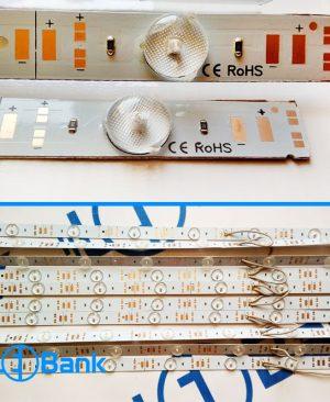 ال ای دی خطی لنز دار آلومینیومی چیپ 3030 ورودی 12 ولت