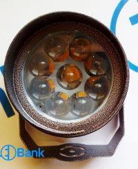 قاب پروژکتور ال ای دی کری لنز دار ضد آب با پرتاب حداکثری نور کد p111