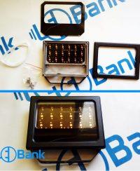 قاب پروژکتور ال ای دی پاور 18 وات به همراه پی سی بی جهت نصب ال ای دی