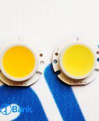 ال ای دی COB گرد سفید آفتابی و مهتابی قطر ژله 5 میلیمتر مناسب ساخت لامپ