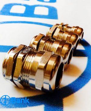 انواع گلند فلزی نگدارنده کابل در سایز های مختلف