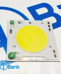 ال ای دی cob گرد بزرگ 50 وات کنترل حرارت ورودی 220 ولت مناسب پروژکتور