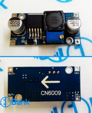 ماژول افزاینده dc به dc خروجی 1.23 تا 30 ولت جریان 3 آمپر CN6009