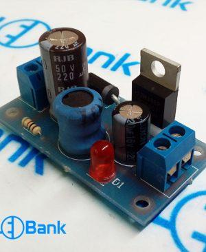 ماژول تغذیه مبدل و کاهنده ولتاژ 5 ولت 3 آمپر بدون نمایشگر
