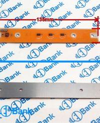 ال ای دی cob خطی فول اسپکتروم 30 وات ورودی 220 ولت 135×20 میلیمتر