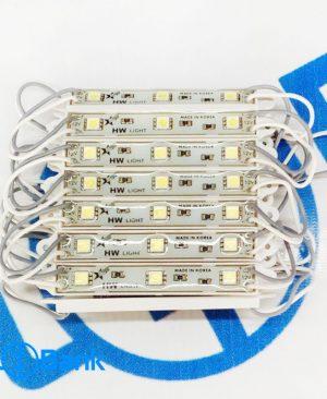 ال ای دی بلوکی 3 مقاومته رزین دار برند HW با کیفیت در 5 رنگ