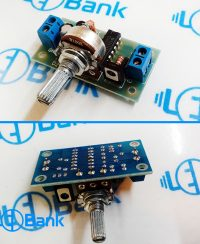 ماژول کنترل دور موتور Dc ولتاژ کاری 7.5 تا 30 ولت حداکثر 1 آمپر
