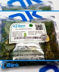 ال ای دی اوال سبز باکیفیت سفارش فروشگاه ال ای دی بانک