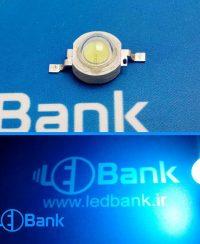 پاور ال ای دی آبی روشن (Ice Blue) توان 1 وات 480-490 نانومتر