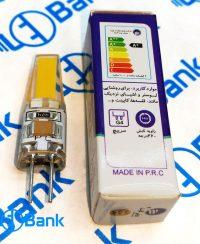 لامپ ژله ای led ناخنی پایه G4 سوزنی 2 وات 220 ولت آفتابی و مهتابی