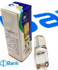 لامپ ژله ای led پایه G9 توان 5 وات 220 ولت چیپ smd 3014 آفتابی و مهتابی