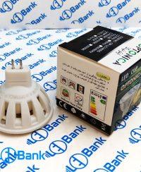 لامپ هالوژنی ال ای دی 3 وات برند اپتونیکا پایه GU5.3 سفید آفتابی و مهتابی
