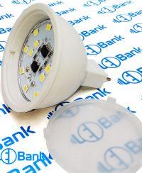 لامپ هالوژن ال ای دی 6 وات برند پارس پایه MR16 سفید آفتابی و مهتابی