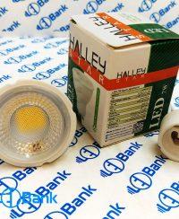 لامپ هالوژنی ال ای دی 7 وات برند هالی استار سفید آفتابی و مهتابی پایه GU10