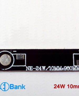 پی سی بی خطی پاور ال ای دی 24 وات 960×10 میلیمتر جنس آلومینیوم مشکی