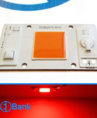 ال ای دی سی او بی رنگ قرمز توان 50 وات ورودی برق 220 ولت