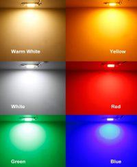 ال ای دی سی او بی رنگ طلایی توان 50 وات ورودی برق 220 ولت