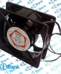 فن بلبرینگی 12 در 12 سانتیمتر ولتاژ ورودی 220 ولت