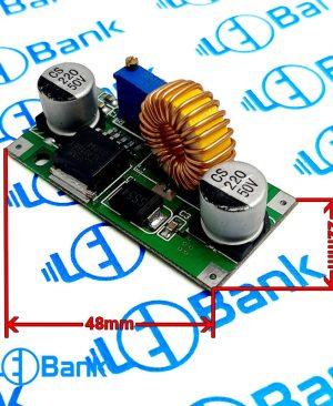 ماژول کاهنده ولتاژ 4 الی 37 ولت به 1.25 الی 36 ولت قابل تنظیم XL4015