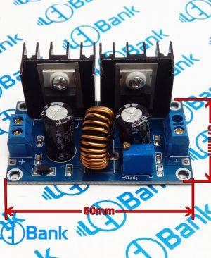 ماژول کاهنده ولتاژ ورودی 5-8 آمپر 4-38 ولت به 1.25-36 ولت قابل تنظیم XL4016