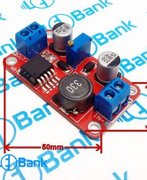 ماژول افزاینده ولتاژ 3-35 ولت به 3-37 ولت 2 آمپر XL6019E1
