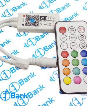 ال ای دی کنترلر rgb وای فای 144 وات ولتاژ ورودی 9-28 ولت
