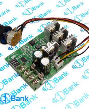 ماژول دیمر و کنترل دور موتور با ولتاژ ورودی 6-60 ولت با حداکثر جریان 30 آمپر